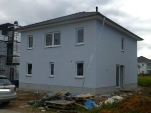 Unser Eigenheim: von außen fast fertig